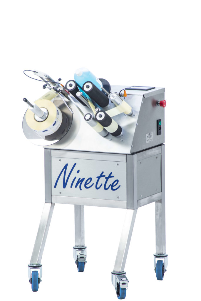 Ninette 1 CDA semi-automatic labelling machine