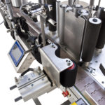 CDA's Essentiel automatic wine bottle labelling machine