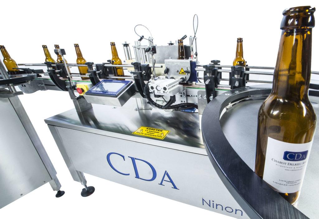 gama ninon etiquetadora automática todos los sectores CDA