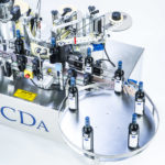 R1000 1500 range, CDA's automatic wine bottle labelling machine