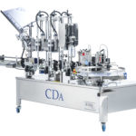 R1000 1500 mix range, CDA's automatic wine bottle labelling machine