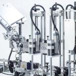 Modellreihe R1000 1500 automatische CDA-Etikettiermaschinen für Champagnerflaschen