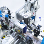 solo range, CDA's automatic can labelling machine