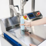 K-net, CDA's semi-automatic filling machine for bottles of wine and all other liquids