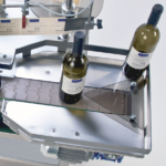 ninette auto CDA 's semi-automatic bottle labelling machine