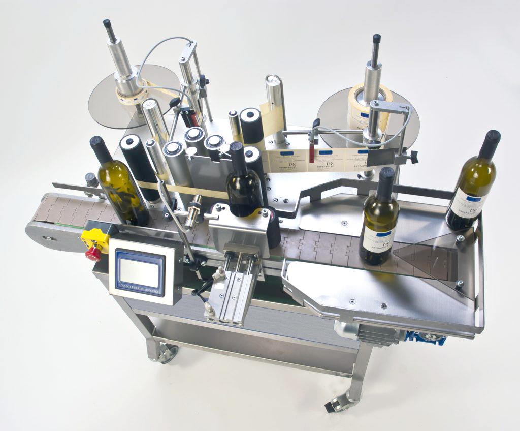 ninette auto CDA's compact semi-automatic labelling machine