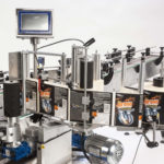 Ninon By-Pass, CDA's automatic labelling machine for vials and small bottles