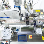 Ninon Mix, CDA's automatic bottle labelling machine