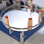 Ninon Side, automatische CDA-Etikettiermaschine zur Anbringung von Etiketten an der Produktseite