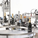 R1000 Foils, CDA's automatic labelling machine for champagne