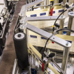 CDA's lea automatic labelling machine for wine