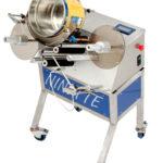 Ninette Special products, eine halbautomatische CDA-Etikettiermaschine für Farbeimer