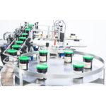 étiqueteuse automatique pots de confiture coniques ninon konic cda