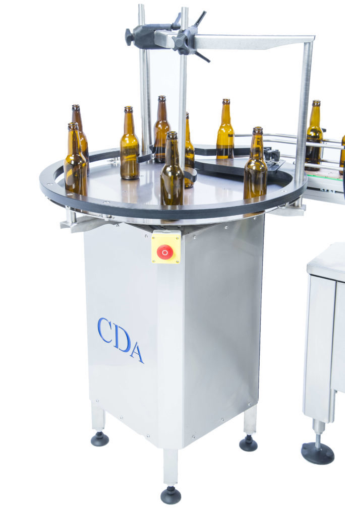 b1500 CDA's automatic labelling machine for beer