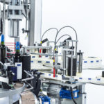 lystop s, CDA's automatic wine bottle labelling machine