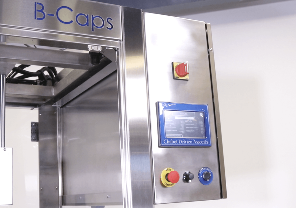 B-Caps automatic capper by CDA